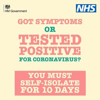 Self-isolate to save lives.  Stay Home. Save lives.  Stay Safe. Protect the NHS. #Newvariant #covid19 #NHS