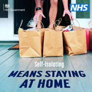Self-isolate to save lives. Stay home. Stay safe. Protect the NHS. #newvariant #covid_19 #nhs