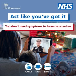 Anyone can spread Coronavirus. Even you. Act like you have it. #NHS #COVID19 #StayHome #protectthenhs