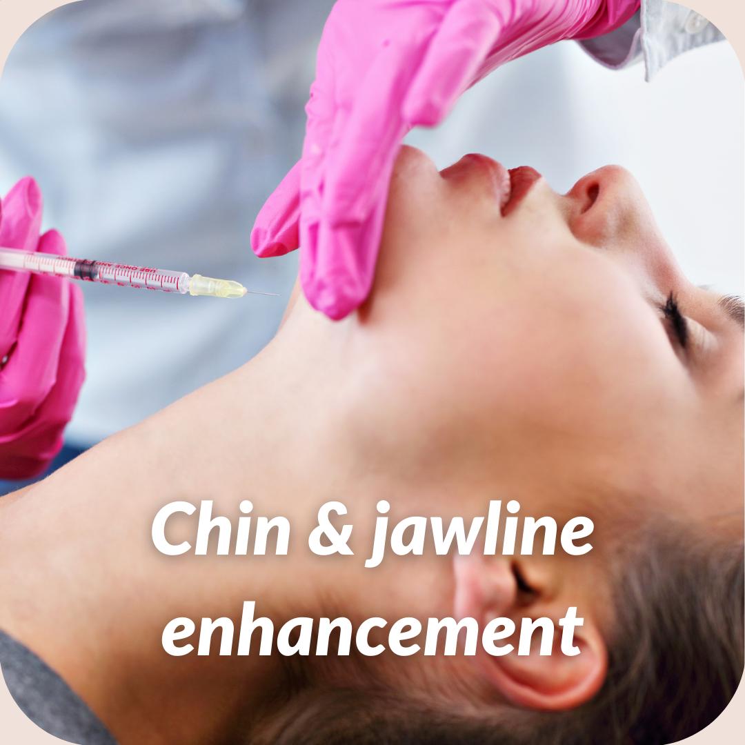 Chin & Jawline enhancement