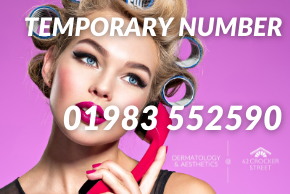 Temporary number 01983 552590